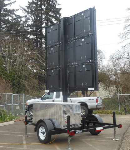 Led Trailers Com Customized Trailer Designed For Led